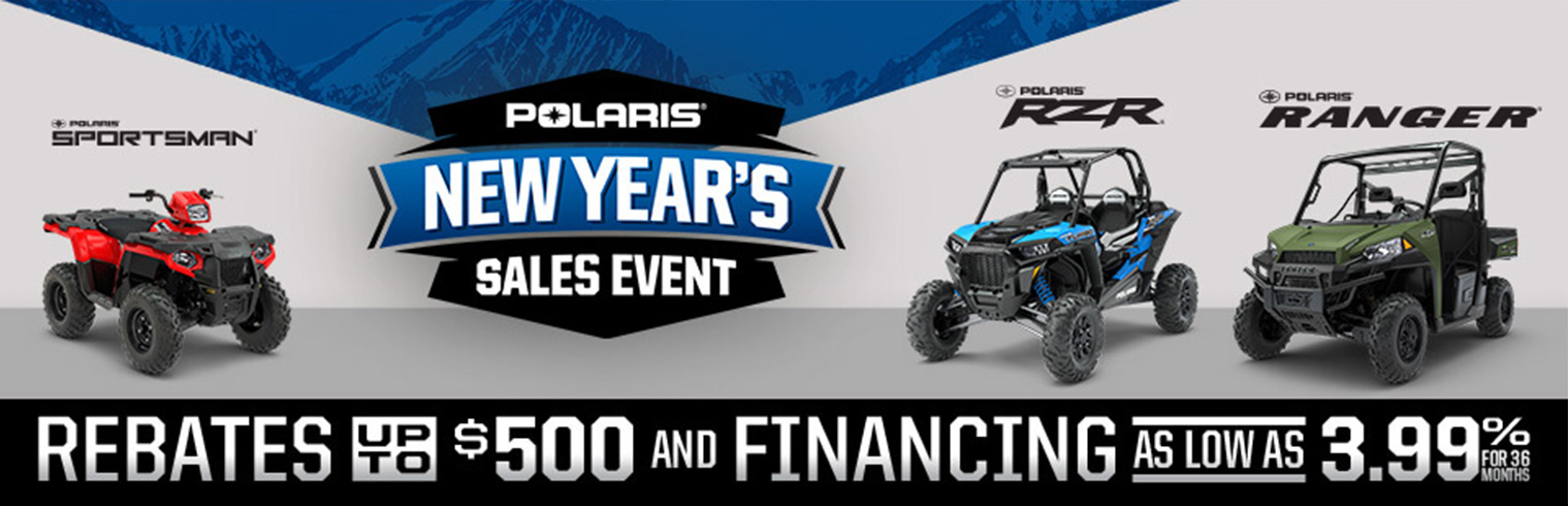 Polaris OHV New Year Sale Event